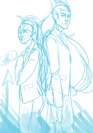 abbydoodles:  2am suit porn wip holla also goodnight i can no longer see straight