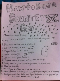 texann-belle:   How to keep a country girl