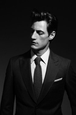 mensfashionworld:  ZARA Man Suit LookBook   For the tailoring *swoon*