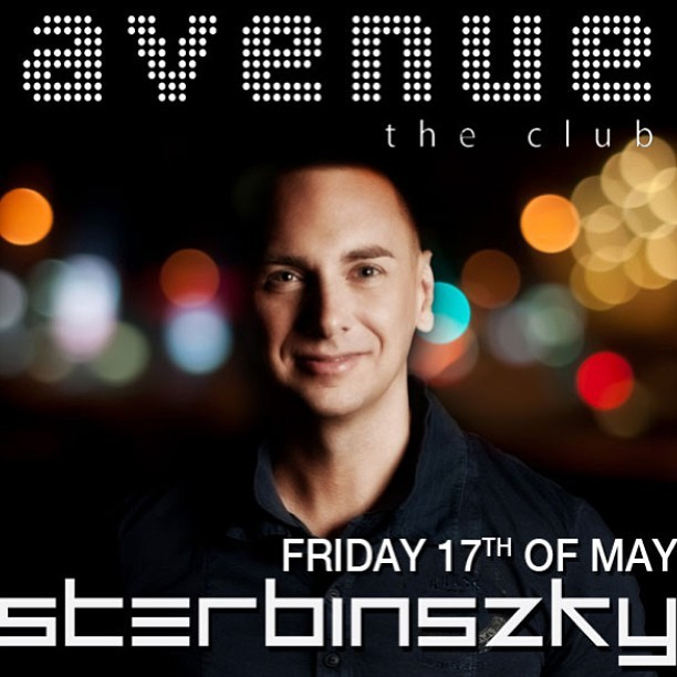 On Friday, 17th May I'll be playing @ Avenue The Club in Oradea (RO).