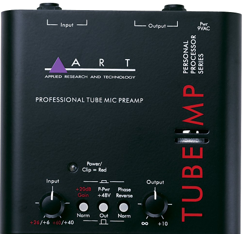 The Tube MP is the world's most popular external tube microphone preamp. Whether you're working with a digital, computer or analog recording system, the Tube MP's TEC award nominated design will allow you to obtain professional recording studio results at a fraction of the cost of comparable equipment.