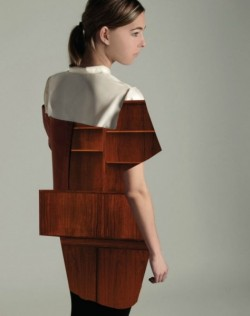 wood dress - Mandy Rep
