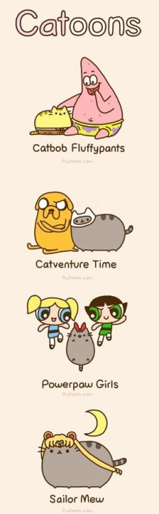 runningthroughlag:  I don't which is cuter! Love Pusheen!!