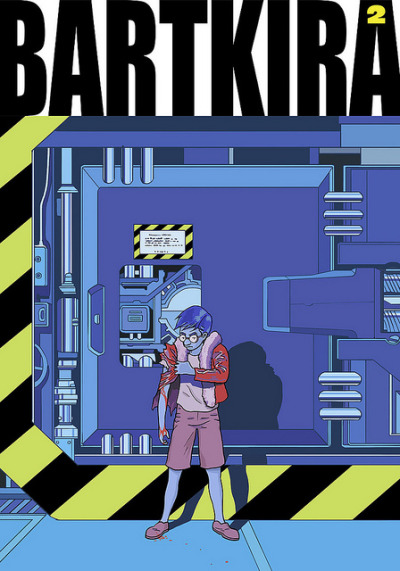 neo-rama:  arambulo:  BARTKIRA vol. 2 on Flickr. Another Simpsonified Akira cover. #bartkira #akira #simpsons  miltsuoooo!