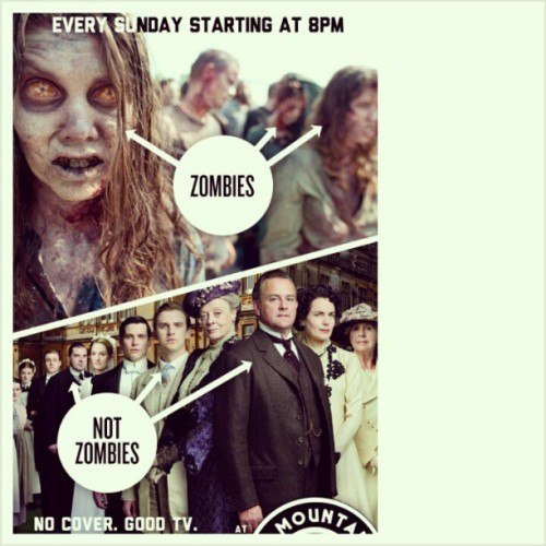 Every Sunday at @holymountainatx watch #downtonabbey and #walkingdead $2 Bloody Mary's $5 Gin drinks (at Holy Mountain)