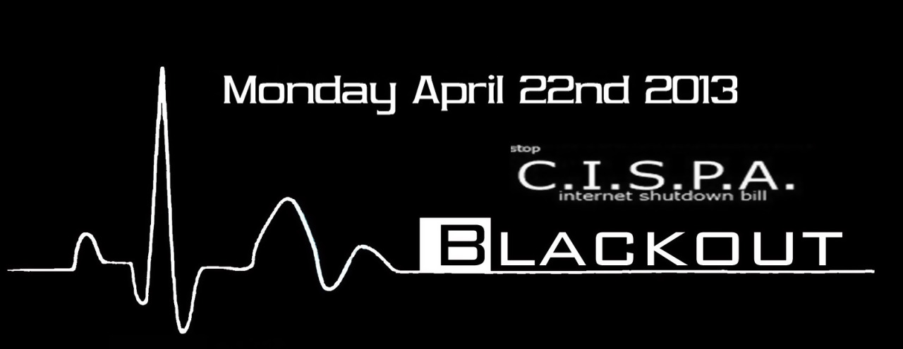 #CispaBlackout – We call for an Internet Black Out on Monday April 22nd Press Release : http://anoninsiders.net/cipsa-1702/