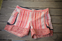 Tropic of Cancer linen shorts.