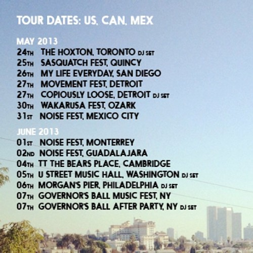 totallyenormousextinctdinosaurs:  Back on the road next week ! Canada ⚡USA ⚡Mexico  SEE YA SOON :D