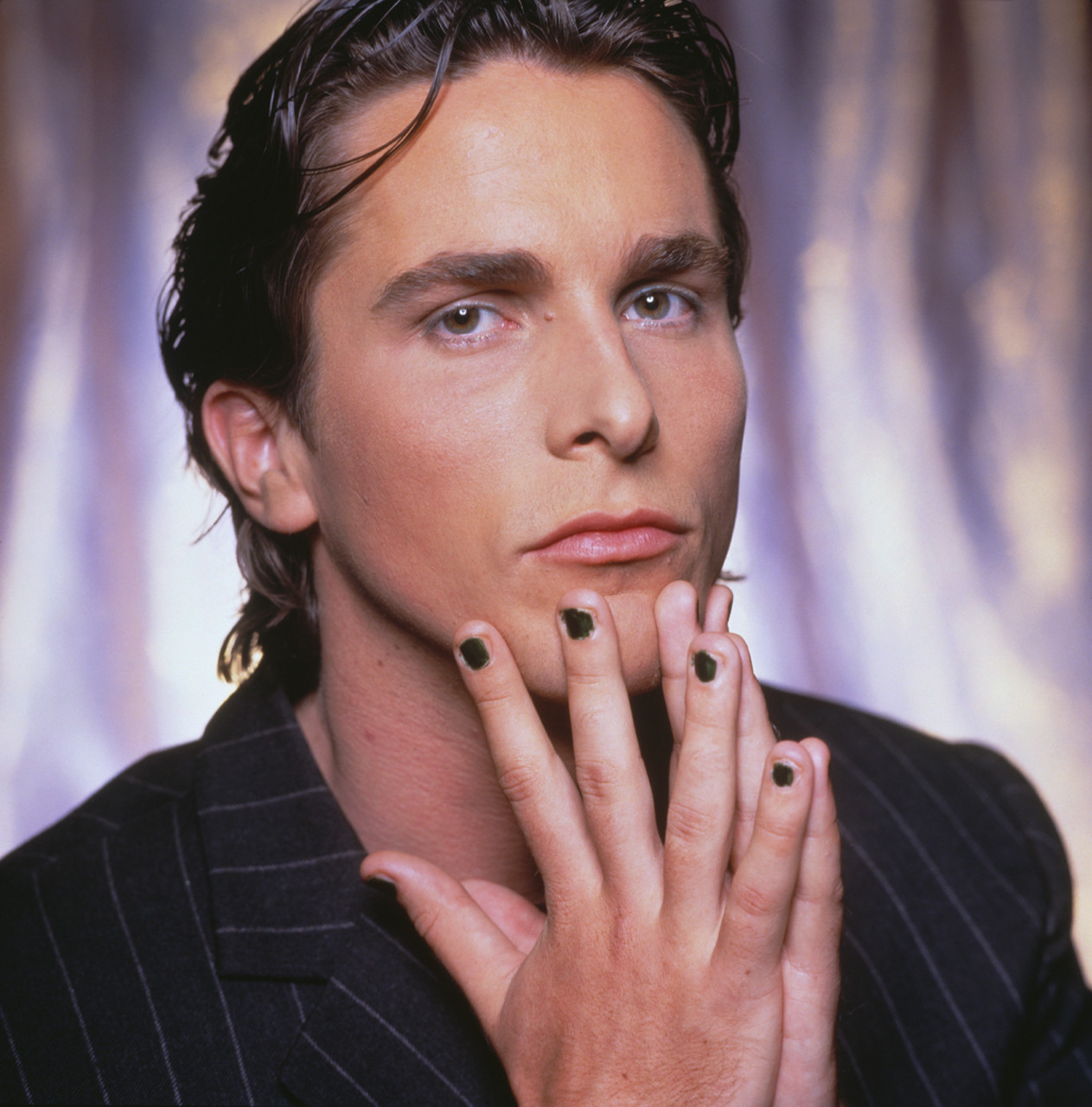 Christian Bale - Whose hands are those?