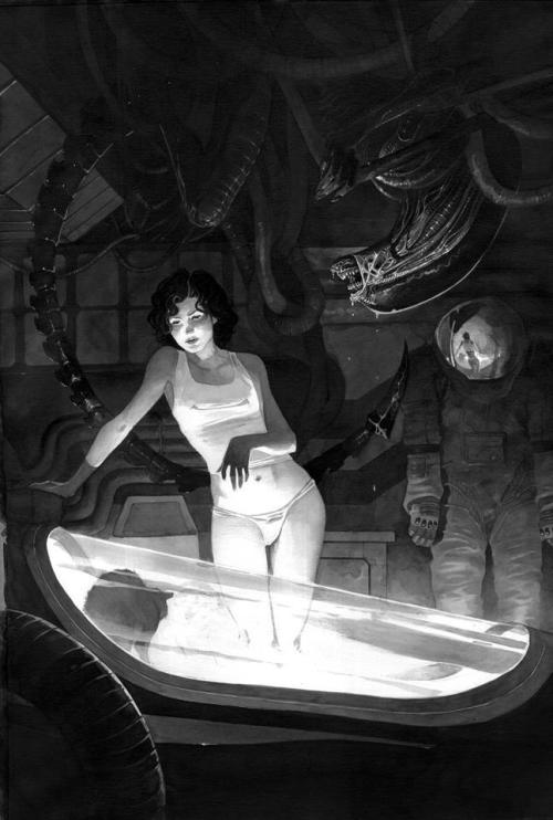 Alien (by Dimitri Armand)
