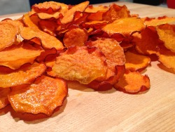 Finished Yam Chips