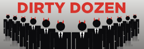 THE DIRTY DOZEN: 12 Worst CEOs for Animals in Laboratories:  http://peta.vg/1as