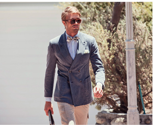 Spring/Summer inspiration by Suitsupply
