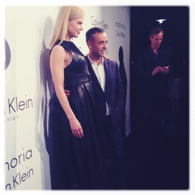 Nicole Kidman has arrived at Calvin Klein Collection's party in Cannes to celebrate women in film.