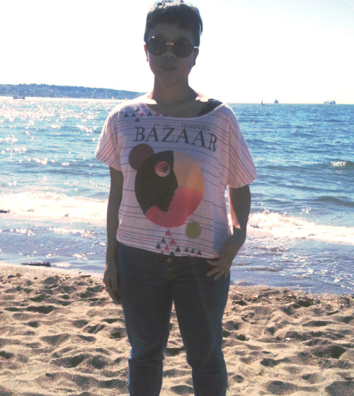vigilantesteez:   at english bay today w/ the sis   Soul Sister