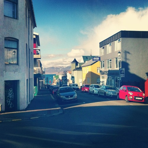 Downtown #Reykjavik ● Ocean ● Mountains | #iceland