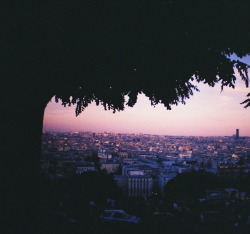 Still probably my favourite photo that I've ever taken. View over Paris from outside the Sacre Coeur