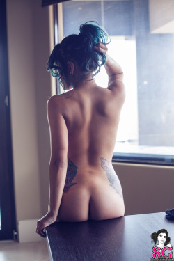 suicidegirls:  Can you tell who this beauty is from the back?