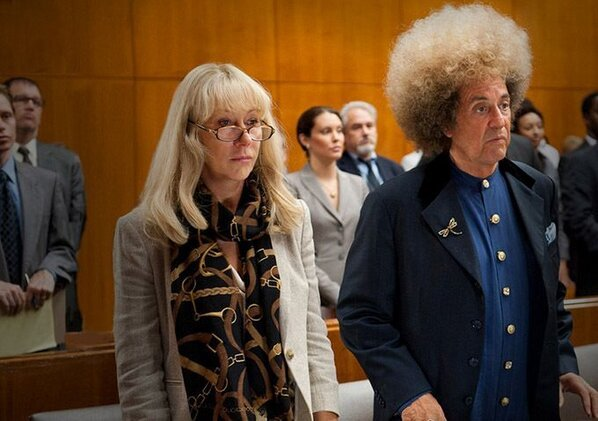 Al Pacino, Helen Mirren - Brilliant first shot of Al Pacino as Phil Spector and Helen Mirren in HBO'
