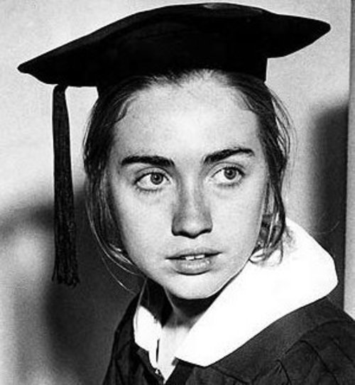 In 1969, she graduated from Wellesley College with a Bachelor of Arts, with departmental honors in political science. She became the first student in Wellesley College history to deliver its commencement address. Her speech received a standing ovation lasting seven minutes. She was featured in an article published in Life magazine, due to the response to a part of her speech that criticized Senator Edward Brooke … That summer, she worked her way across Alaska, washing dishes in Mount McKinley National Park and sliming salmon in a fish processing cannery in Valdez (which fired her and shut down overnight when she complained about unhealthy conditions). — source: —- Wiki