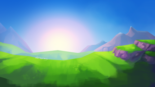 fantasy sketch environment practise I was gonna do Friday as well; but that would end up with an uneven amount of pictures and that annoys me
