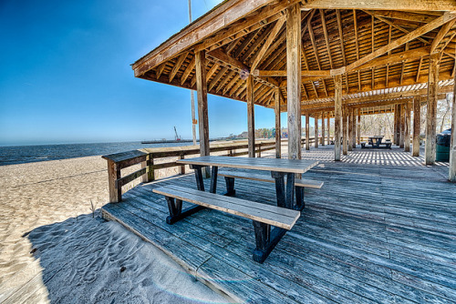 Take a Seat, on the Beach on Flickr.Via Flickr: Corey Beach - Long Island New York