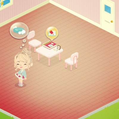 My girl is sooo cute, Obsessed with this app! Add me on line play! Heres my code HK-7752-6606