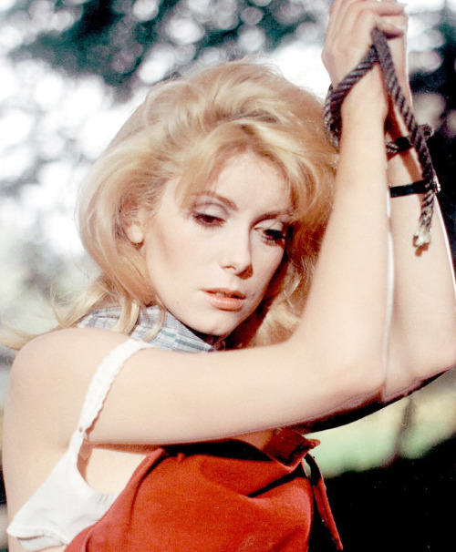 moronicalake:  7/50 photos Catherine Deneuve   Catherine Deneuve in Belle de Jour directed by Luis Bunuel (1967)