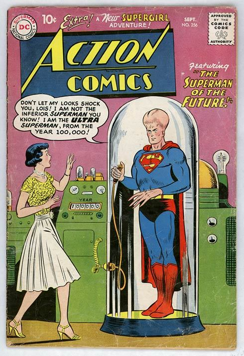 John Douglas covers Action 256 Original cover by Curt Swan and Stan Kaye (DC 1959).   Cover redesign by John Douglas. Artist blog