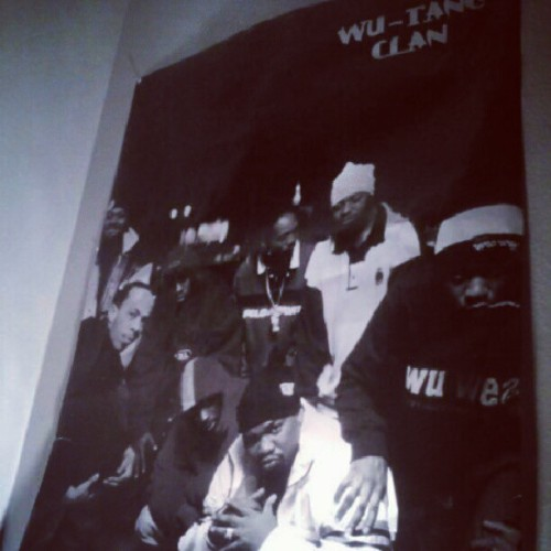 I've had a Wu-Tang Clan poster in all of my rooms since grade school. Now I'm gonna share the stage with one of them.