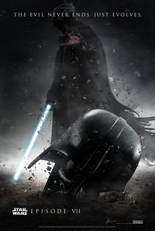 Check out this cool fan-made Star Wars Episode VII poster! (Via Imgur)