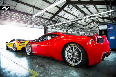 wellisnthatnice:  Ferrari Challenge by Trevor Thompson on Flickr.