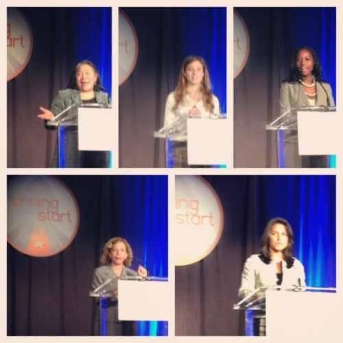 So inspired last night by all these fab female politicos at @runningstartdc Awards. First Lady's chief of staff Tina Tchen, teenage entrepreneur Talia Leman, Mayor Mia Love, Rep @dwstweets and Rep Tulsi Gabbard