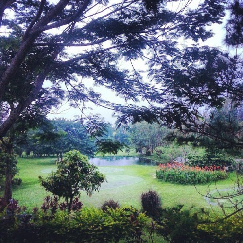 Weekend view (at Royale Tagaytay Country Club)