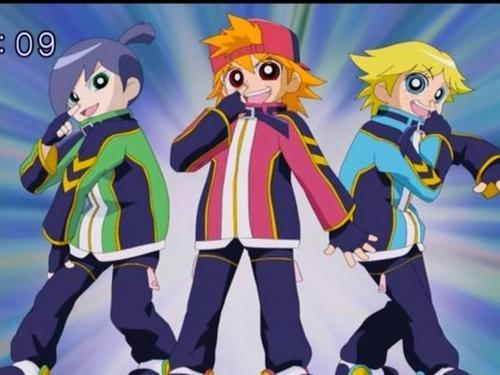 Anime powerpuff girls z
