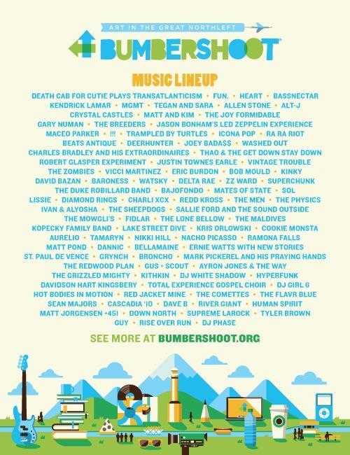 I'm so excited to be playing Bumbershoot: Seattle's Music & Arts Festival this year! Check out the INCREDIBLE lineup http://bumbershoot.org/lineup/