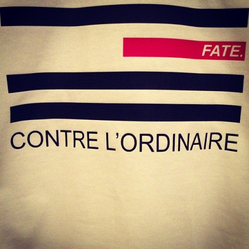 Something a little out of the ordinary #fate #french #red #black #white #street #wear #sneaker #sneakerhead #uk #brand #fashion #bmx #skate #project #translate
