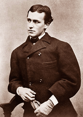 Henry James, c. 1860, age 17. From the submitter Katie Sommer: Hello MDB. I am the associate editor for The Complete Letters of Henry James (ongoing; U of Nebraska Press). Here's a photo of an extremely handsome young (18 years old or so) Henry James. The photo dates from 1860 or 1861 when his family was in Newport, RI, and the original is at the Houghton Library at Harvard University (pf MS AM 1094).