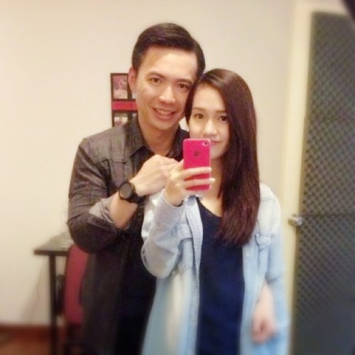 Decked out in denim with @chanelyeong #girl #men #instalove #love #iphoneonly #style #fashion