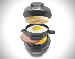 laughingsquid:  Breakfast Sandwich Maker Makes a Quick Multi-Layered Meal