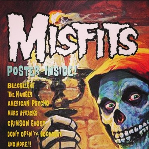 #nowplaying #listeningto #misfits