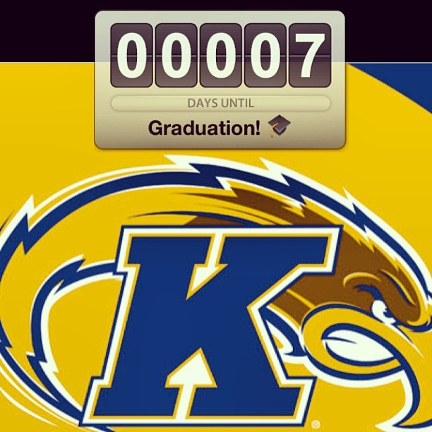 One week til #graduation! :)