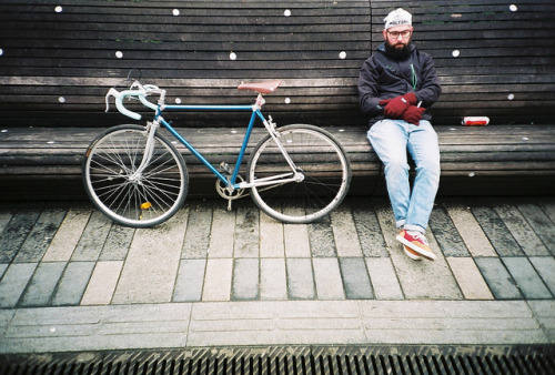 beardsandbicycles:  Vacant Echo having a little rest by lomokev on Flickr.