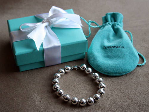 Tiffany bead bracelet. Barely worn. Comes with pouch and box. $150 (Cash only/Pick Up only)  Email me at waterlily1027@yahoo.com. #forsale