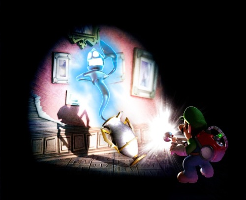Luigi's Mansion Dark Moon Artworks