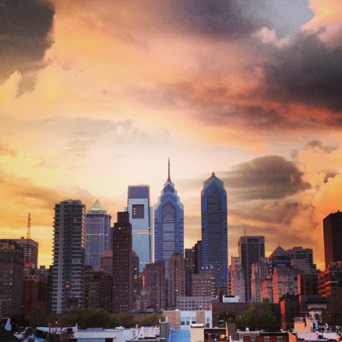 #philly sunset