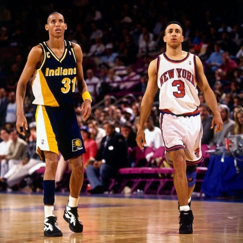mrflair:  Just like old times. #Knicks #Pacers #HateThoseGuys