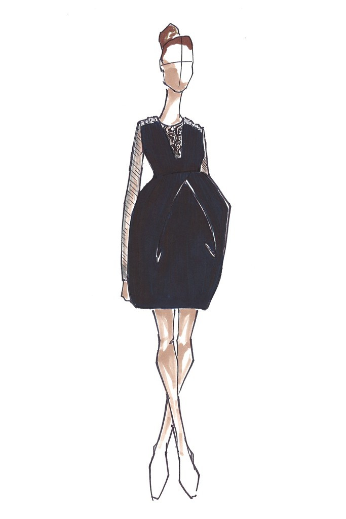 womensweardaily:  Kate Expectations: Maternity Designs for the Duchess of Cambridge  Vera Wang Courtesy Photo