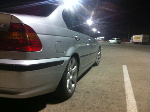My wife's lovely e46.