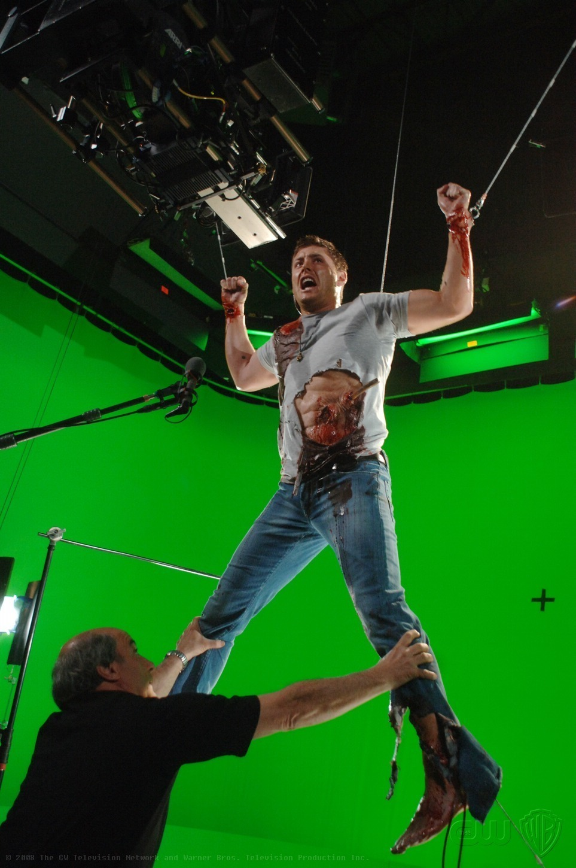 Supernatural Behind the Scenes Supernatural Dean In Hell